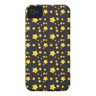 星パターンが付いている暗い夜空 Case-Mate iPhone 4 ケース