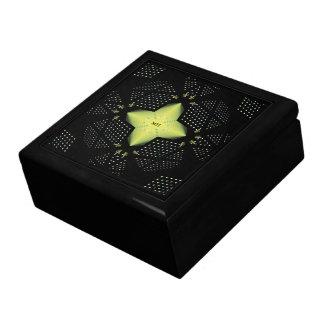 星パターンテンプレート ギフトボックス