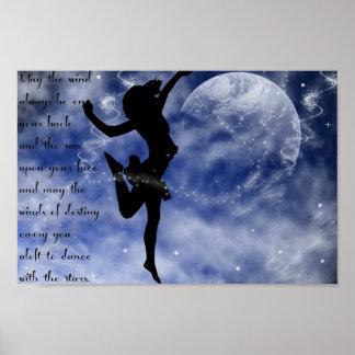 星ポスターの中のダンス ポスター