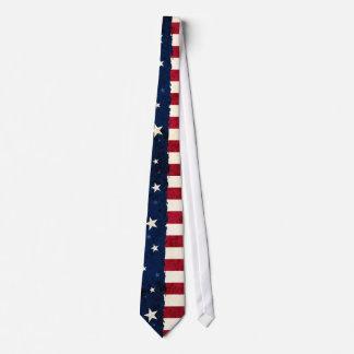 星及びストライプの愛国心が強いアメリカのスタイル米国の旗 タイ