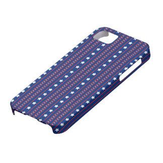 星及びストライプ iPhone SE/5/5s ケース