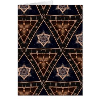 星及びピラミッド カード