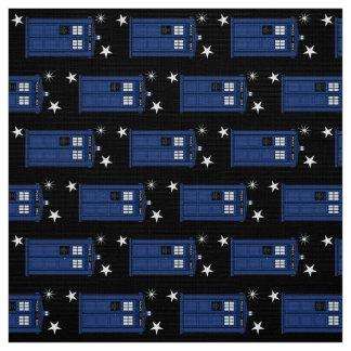 星及び長のクラシックの警察箱のオタクのサイエンスフィクション ファブリック