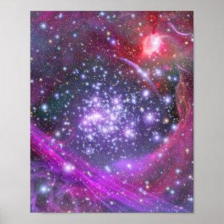 星団をアーチ形にします ポスター