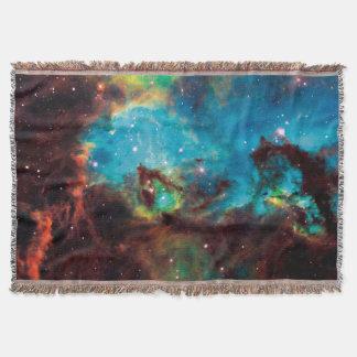 星団NGCの2074年のタランチュラの星雲の宇宙の写真 スローブランケット