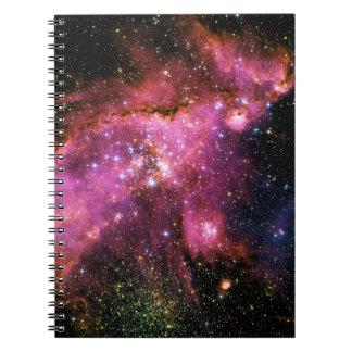 星団NGC-346 (宇宙)の~ ノートブック