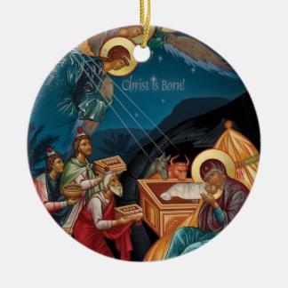 星学者のクリスマスのオーナメントの崇敬 セラミックオーナメント