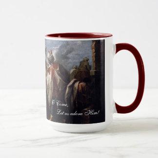 星学者の崇敬 マグカップ
