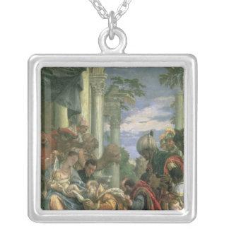 星学者の崇敬、1570年代 シルバープレートネックレス