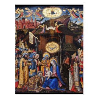 星学者の崇敬- Antonio Vivarini ポストカード