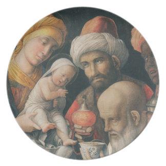 星学者の崇敬、c.1495-1505 プレート