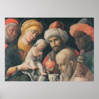 星学者の崇敬、c.1495-1505 ポスター