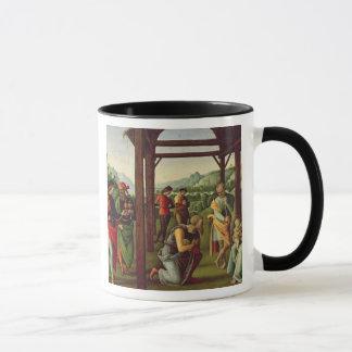 星学者(パネルの油)の崇敬(また見て下さい マグカップ