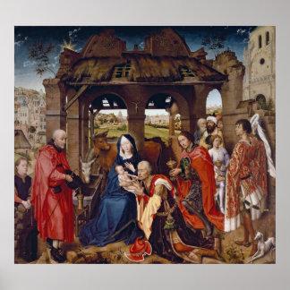 星学者、c.1455の崇敬 ポスター