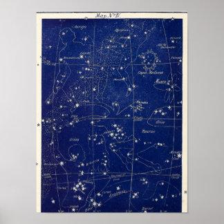 星座のオリオンのトーラスおよび牡羊座 + ポスター