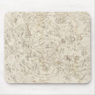 星座の地図 マウスパッド