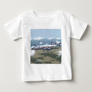 星座の定期旅客機のTシャツ ベビーTシャツ