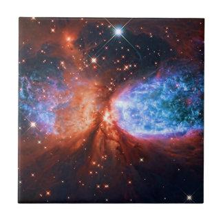 星座の白鳥座、白鳥の星の誕生 タイル