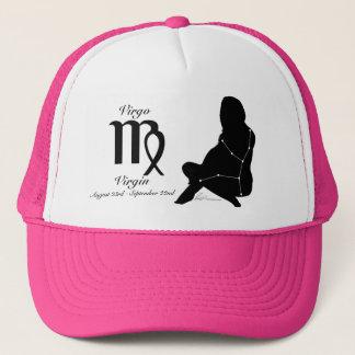 《星座》乙女座の星座か(占星術の)十二宮図の帽子 キャップ