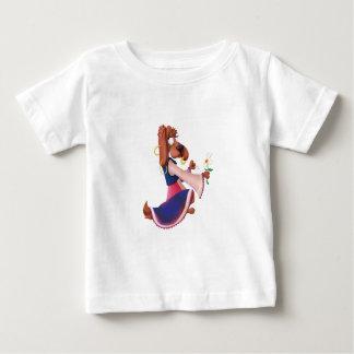《星座》乙女座犬 ベビーTシャツ