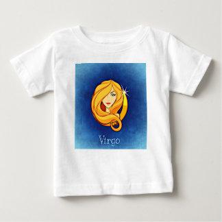 《星座》乙女座、ヴァージン ベビーTシャツ