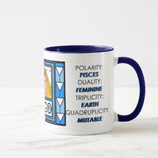 《星座》乙女座-占星術のなプロフィールのマグ マグカップ