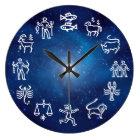 星座((占星術の)十二宮図) ラージ壁時計