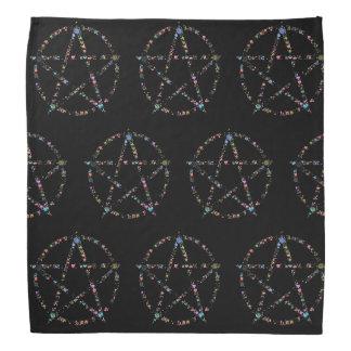 星形五角形 バンダナ