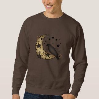 星明かりおよび月のカラスの原住民のワイシャツ スウェットシャツ