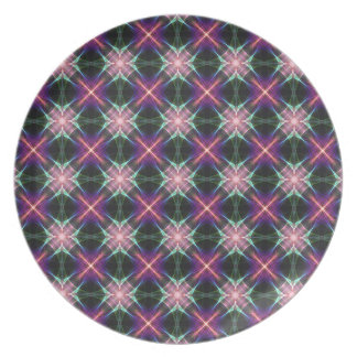 星明かりのキルトパターン プレート