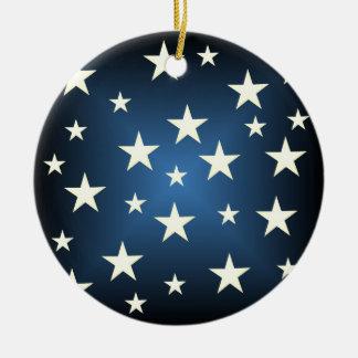 星明かりのクリスマスのオーナメント セラミックオーナメント