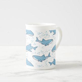 星明かりのジンベイザメ(ライト) ボーンチャイナカップ