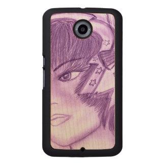 星明かりのフラッパー-紫色 ウッドケース