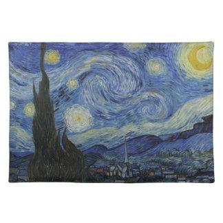 星明かりの夜アメリカ人のMoJoのランチョンマット ランチョンマット