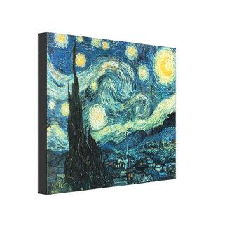 星明かりの夜ゴッホのキャンバスプリントのプリント キャンバスプリント