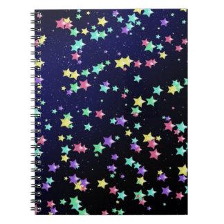 星明かりの夜ノート ノートブック