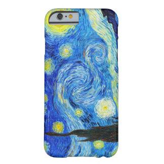星明かりの夜フィンセント・ファン・ゴッホのクールな絵画 BARELY THERE iPhone 6 ケース