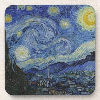 星明かりの夜フィンセント・ファン・ゴッホの絵画 コースター