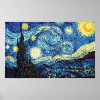 星明かりの夜ポスター ポスター