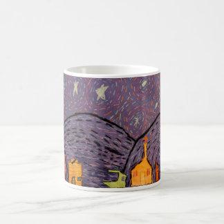 星明かりの夜マグ コーヒーマグカップ