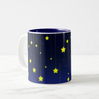 星明かりの夜マグ ツートーンマグカップ