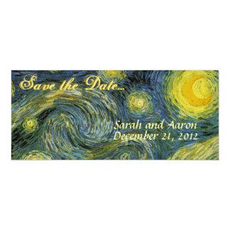 星明かりの夜保存日付 カード
