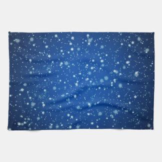 星明かりの夜台所タオル キッチンタオル