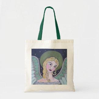星明かりの夜天使のトートバック トートバッグ