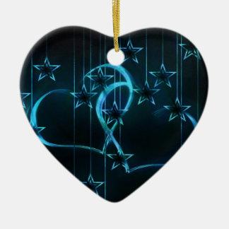 星明かりの夜恋人の暗藍色 セラミックオーナメント