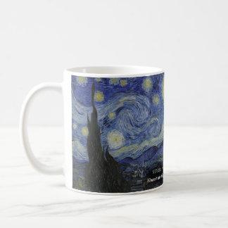 星明かりの夜歴史的マグ コーヒーマグカップ