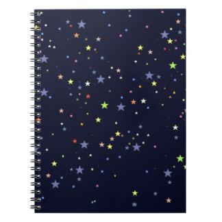 星明かりの夜空 ノートブック