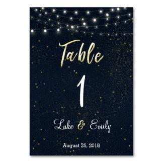 星明かりの夜結婚式 カード