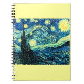 星明かりの夜芸術 ノートブック