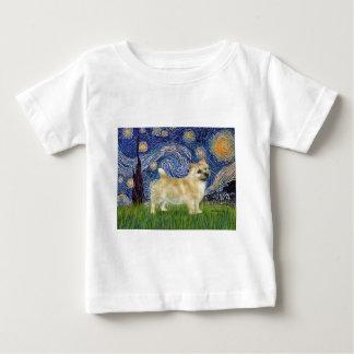 星明かりの夜-ノリッジテリア ベビーTシャツ